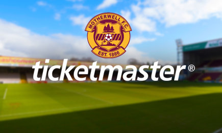 Motherwell enter partnership with Ticketmaster