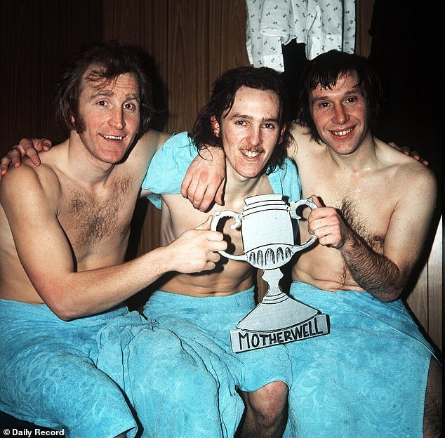 Motherwell was his playground from 1972 to 1979 - Ian Taylor, Pettigrew and Bobby Graham