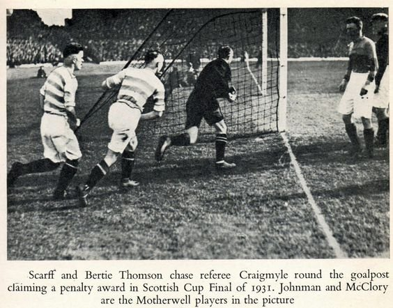 Scottish Cup Final of 1931.