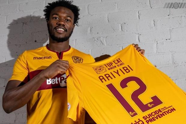 Gboly Ariyibi wants to make Motherwell home sweet home on his latest stop in football